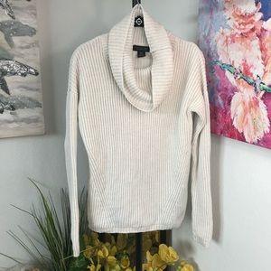 Rachel Zoe Cowlneck Knit Sweater Size Small